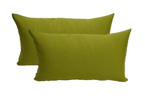 adding a splash of color with decorative lumbar pillows
