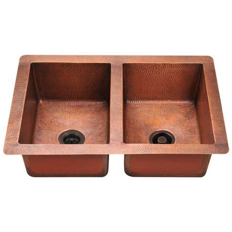copper undermount kitchen sink polaris sinks undermount copper 33 in bowl kitchen