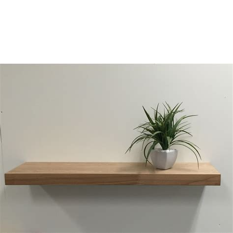 rustic ash floating shelf 900x250x50mm mastershelf