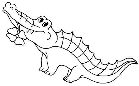 alligator cuisine coloriage crocodiles page 2 à colorier allofamille