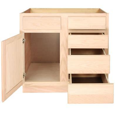 Vanity Base Cabinet by Barthroom Vanity Sink Drawer Base 36unfinished Oak