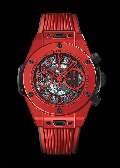 Hublot Bang Magic Unico Rojo Horloge Muurbloempje