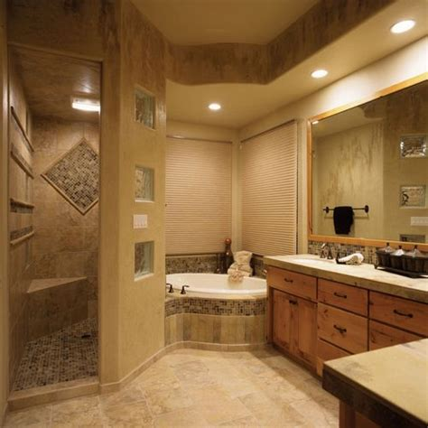 mediterranean bathroom design ideas remodels photos showers without doors home design ideas pictures remodel and decor
