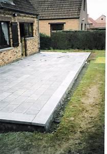 Terrasse En Caillebotis : terrasse en pierre ~ Premium-room.com Idées de Décoration