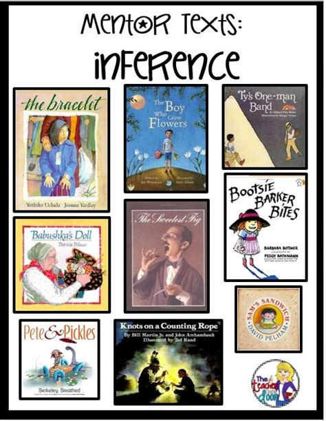 tips  teaching inferences mentor texts   great