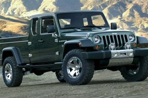 jeep concept truck gladiator jeep wrangler pickup truck could be possibility for 2016