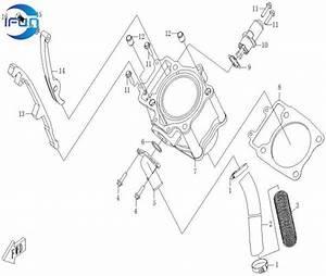 Cf Moto Cf500 Ecrankcase Cylinder Body Cf Moto Cf500 Utv Parts Cf Moto Cf500 Utv Accessories