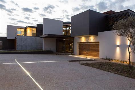garage lighting luxurious modern residence  pretoria