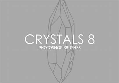 Photoshop Brushes Crystals Brusheezy Stone
