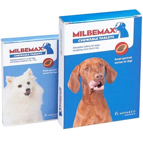 buy milbemax chewable dog wormer tablets onine manor