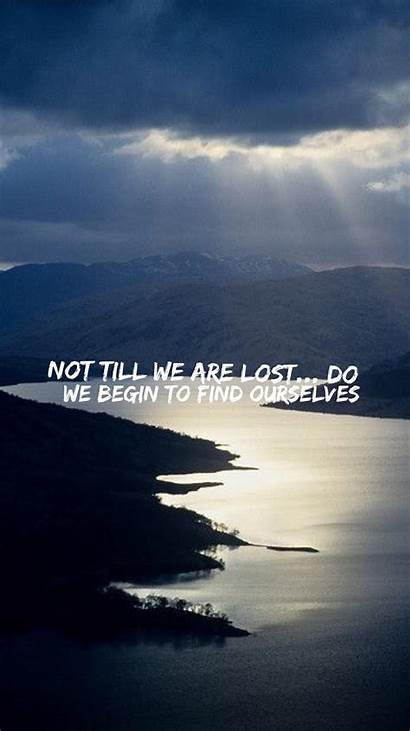 Nature Quotes Wallpapers Thoughts Ios Missing Landscape