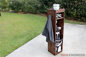 DIY Golf Locker Free & Easy Plans Rogue Engineer