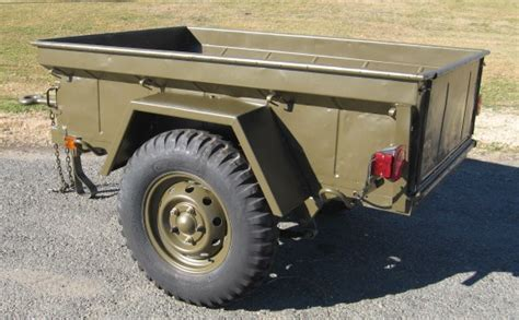 military jeep trailer m416 1 4 ton trailer serial unknown