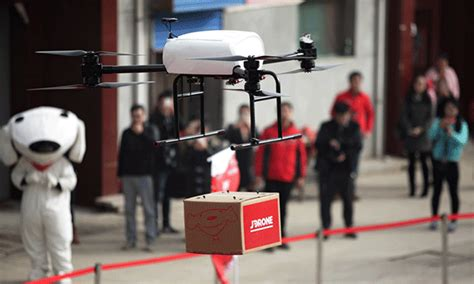 jds drone delivers  purchases   rural areas