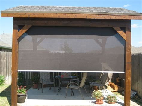 outdoor solar shades for patios best 25 patio shade ideas on outdoor patio