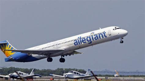 allegiant air phone number allegiant air pushes st pete clearwater airport to record