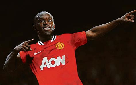 manchester united snap  worlds fastest sprinter claims