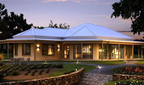 Western View Home Design Ltd by Wa Country Builders Pty Ltd Home Designs The Hill View