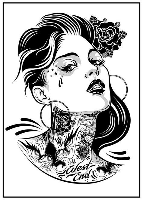 Pin Up Girl Tattoo Designs | MadSCAR | Tattoo Ideas | Pinterest | Portrait, Girls and Tattoo studio