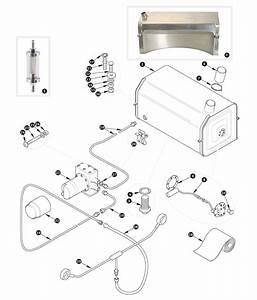 Fuel Pump And Fuel Tank - Xk150 To May 1958