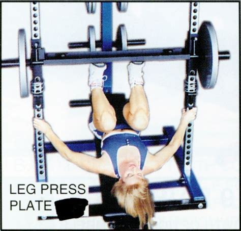 plate leg legpress press ironmaster