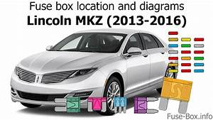 Fuse Box Location And Diagrams  Lincoln Mkz  2013