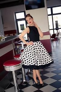50 Er Jahre Style : atelier belle couture 50er jahre rockabilly petticoatkleid ~ Sanjose-hotels-ca.com Haus und Dekorationen