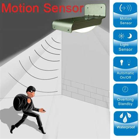 How To Install Motion Sensor Light by 16 Led Solar Power Motion Sensor Security L Outdoor