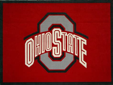 Ohio State Buckeyes Wallpaper Carpet Adcut