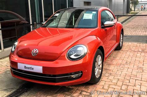 volkswagen beetle  jetta discontinued  india