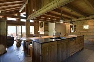Lame Bois Pour Construction Chalet : cuisine ~ Melissatoandfro.com Idées de Décoration