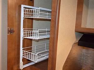 Sliding pantry shelves for rv for Sliding pantry shelves for rv