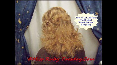 ruby tuesday  farrah fawcett haircut  youtube