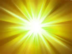 Yellow Light Burst