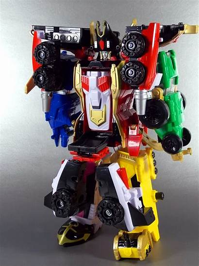 Rangers Megaforce Power Super Zord Delta Runner