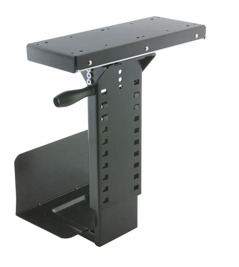 Cpu Holder Desk Mount Small by Cpu Stand Computer Cabinet Tx Usa