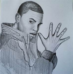 How to draw - Chris Brown - YouTube