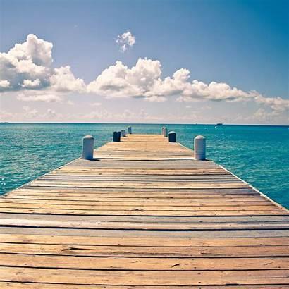 Dock Ipad Ocean Sunny Summer Endless Wallpapers