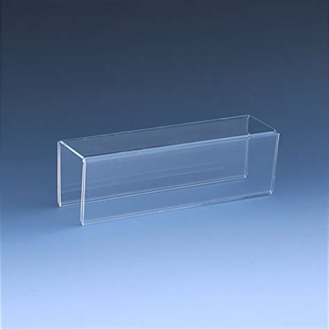 sided cubicle  plate holder   wide    high deep pack  ebay
