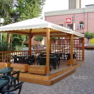 vendo gazebo vendo gazebo in legno per bar posot class