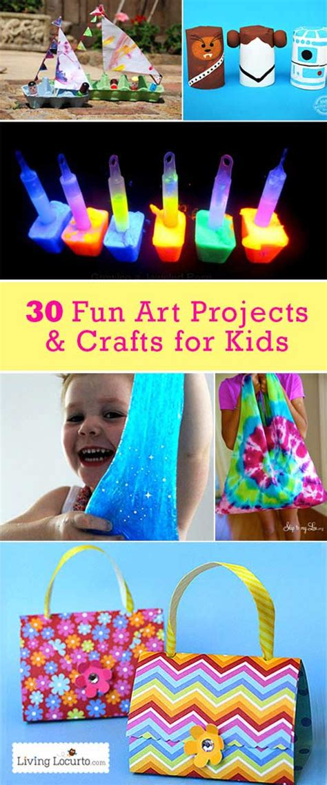 30 Easy Art Projects & Crafts For Kids  Useful Ideas
