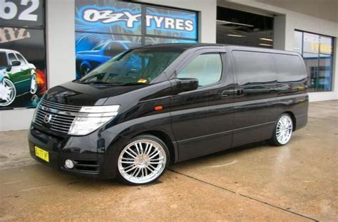 Nissan Elgrand Modification by Nissan Elgrand Rims Mag Wheels Nissan Elgrand With