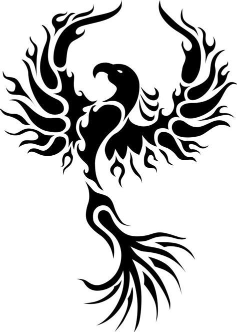 Rising Phoenix Tattoo   Phoenix tattoo design, Tribal phoenix tattoo, Rising phoenix tattoo