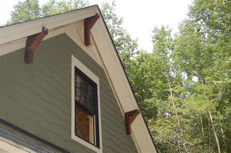 House Corbels by Rocks And Dirt Modern Craftsman Style Home