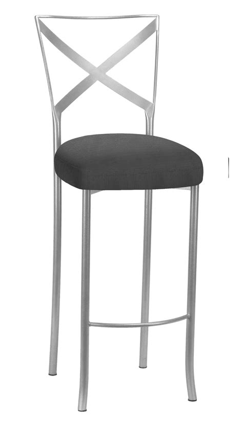 CHAMELEON SILVER SIMPLY X BARSTOOL Rentals   Bright Rentals