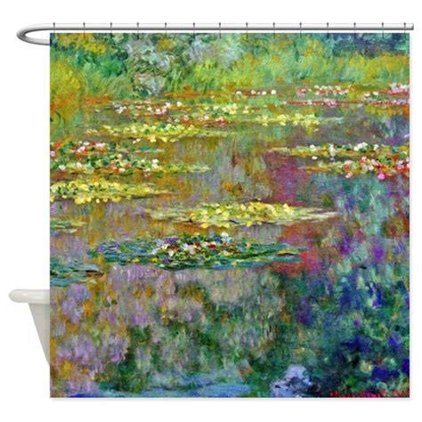 Water Lilies 1904 By Claude Monet Shower Curtain By