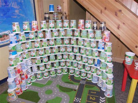 Ein Riesen Turm Aus Den Kefirbecher  Projekte Und
