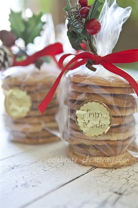 homemade holiday cookies gift and gift wrap ideas
