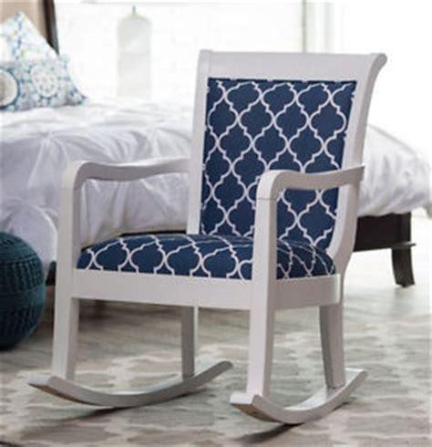 rocking chair upholstered nursery rocker baby bedroom