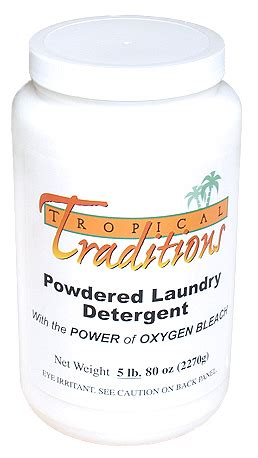 Tropical Traditions Laundry Detergent And tropical traditions laundry detergent and oxygen